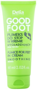 Delia Cosmetics Good Foot pemza na nohy v kréme