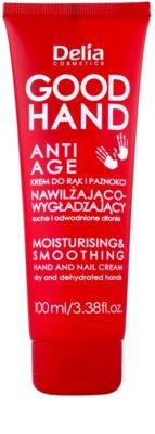 Delia Cosmetics Good Hand Anti-Age krem nawilżający i zmiękczający do rąk i paznokci