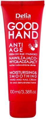 Delia Cosmetics Good Hand Anti-Age зволожуючий пом'якшуючий крем для рук та нігтів