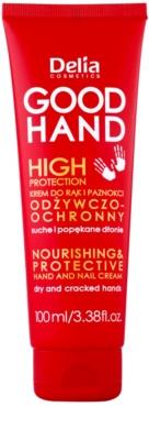 Delia Cosmetics Good Hand High Protection vyživujúci a ochranný krém na ruky a nechty