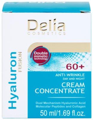 Delia Cosmetics Hyaluron Fusion 60+ Anti-Faltencreme zur Erneuerung der Hautdichte 2