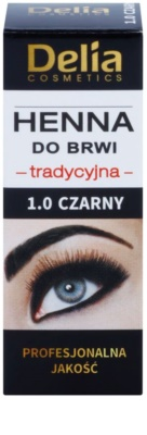 Delia Cosmetics Henna Farbe für die Augenbrauen