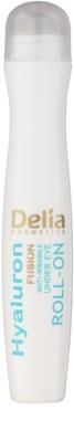 Delia Cosmetics 3D Hyaluron Fusion festigendes Augen-Roll on gegen Falten, Schwellungen und Augenringe