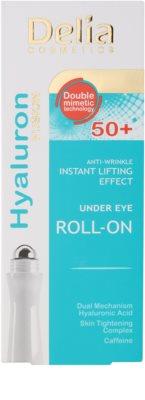 Delia Cosmetics 3D Hyaluron Fusion festigendes Augen-Roll on gegen Falten, Schwellungen und Augenringe 2
