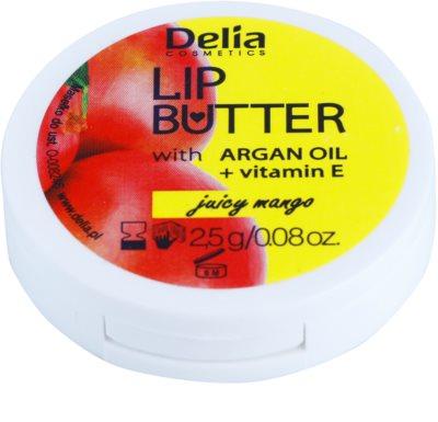 Delia Cosmetics Lip Butter Juicy Mango negovalno maslo za ustnice