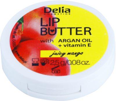 Delia Cosmetics Lip Butter Juicy Mango масло-грижа за устни