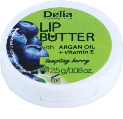 Delia Cosmetics Lip Butter Tempting Berry cuidado lábial de manteiga