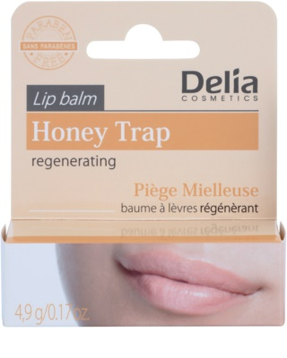 Delia Cosmetics Lip Balm Honey Trap regeneráló szájbalzsam 2