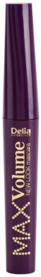 Delia Cosmetics New Look tömegnövelő és szempilla-elválasztó szempillaspirál 1