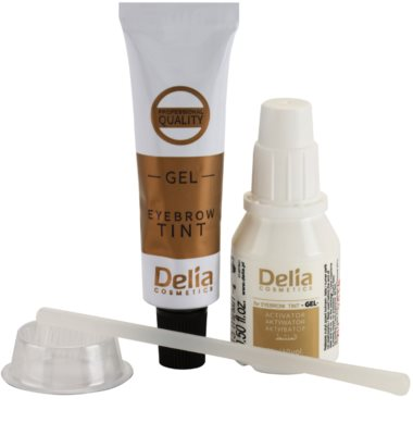 Delia Cosmetics Pro Color gel con color para cejas sin amoníaco 2