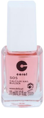 Delia Cosmetics Coral kondicionér na nehty s vápníkem pro křehké nehty