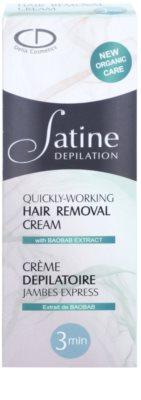 Delia Cosmetics Satine Depilation Quickly-Working depilační krém na nohy