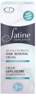 Delia Cosmetics Satine Depilation Quickly-Working крем для ніг для депіляції