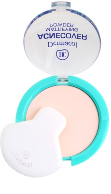 Dermacol Acnecover polvos compactos para pieles problemáticas y con acné 1