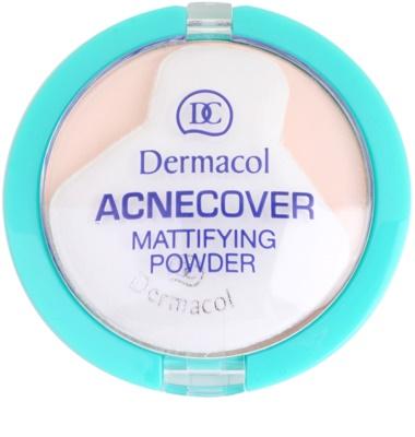 Dermacol Acnecover polvos compactos para pieles problemáticas y con acné 2