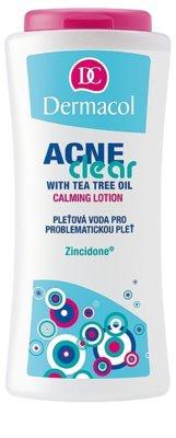 Dermacol Acneclear apa pentru purificarea tenului pentru ten acneic