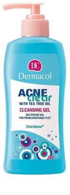 Dermacol Acneclear Gel zum abschminken für problematische Haut, Akne