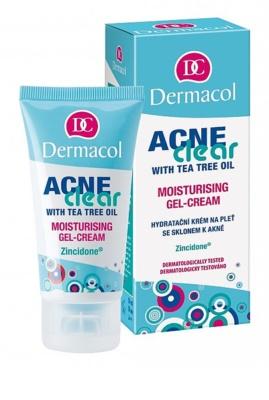 Dermacol Acneclear hydratisierende Gel-Creme für problematische Haut, Akne 1