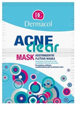 Dermacol Acneclear máscara de pele para pele problemática, acne