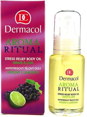 Dermacol Aroma Ritual antistresový tělový olej 1