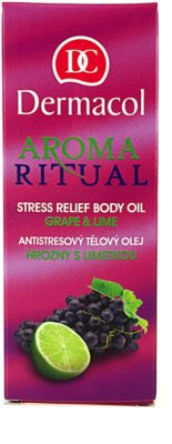 Dermacol Aroma Ritual ulei de corp antistres si relaxant 3