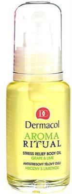 Dermacol Aroma Ritual antistressz testápoló olaj