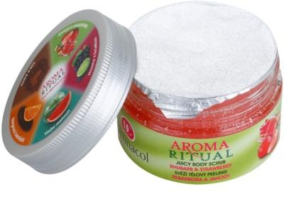 Dermacol Aroma Ritual svěží tělový peeling 1