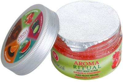 Dermacol Aroma Ritual exfoliante corporal refrescante 1
