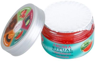 Dermacol Aroma Ritual frissítő testpeeling 1