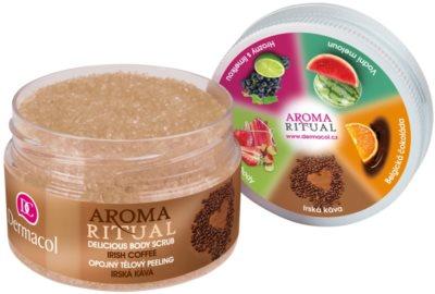 Dermacol Aroma Ritual opojný tělový peeling 1