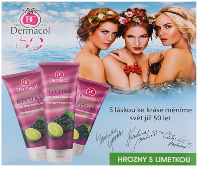 Dermacol Aroma Ritual kozmetická sada III.