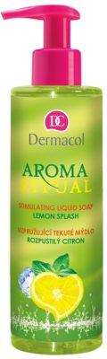 Dermacol Aroma Ritual orzeżwiające mydło w płynie z dozownikiem