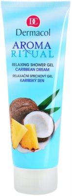 Dermacol Aroma Ritual relaksacijski gel za prhanje s kokosovim oljem