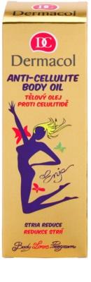 Dermacol Enja Body Love Program Massageöl für den Körper gegen Cellulite und Schwangerschaftsstreifen