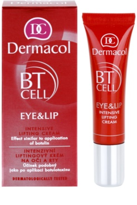 Dermacol BT Cell intensive Liftingcreme Für Lippen und Augenumgebung 1