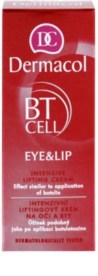 Dermacol BT Cell intensive Liftingcreme Für Lippen und Augenumgebung 2