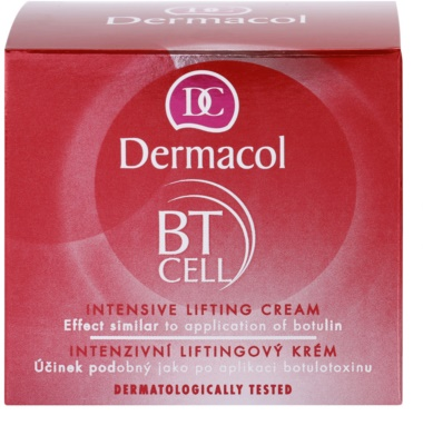 Dermacol BT Cell intensive Liftingcreme 3