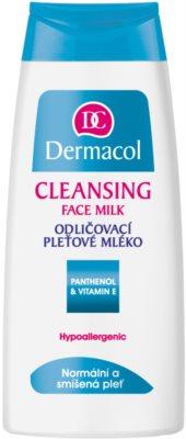 Dermacol Cleansing мляко за почистване на грим за нормална към смесена кожа