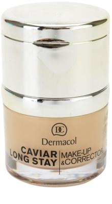 Dermacol Caviar Long Stay дълготраен фон дьо тен с екстракт от хайвер и коректор за несъвършенства 4