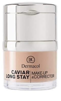 Dermacol Caviar Long Stay base de maquillaje y corrector con caviar