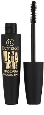 Dermacol Mega Lashes Dramatic Look tusz do rzęs zwiększający objętość i podkręcający