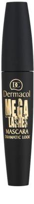 Dermacol Mega Lashes Dramatic Look mascara pentru volum si curbare 1