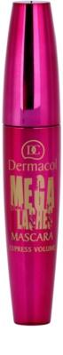 Dermacol Mega Lashes Express Volume Mascara für längere, geschwungenere und vollere Wimpern 1