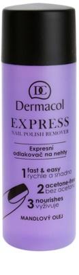 Dermacol Express odlakovač na nehty bez acetonu
