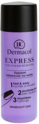 Dermacol Express removedor de verniz sem acetona
