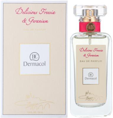 Dermacol Delicious Freesia & Geranium Eau de Parfum für Damen