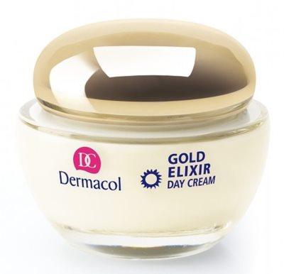 Dermacol Gold Elixir дневен подмладяващ крем  с хайвер