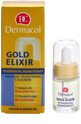 Dermacol Gold Elixir verjüngende Aromatherapie mit Kaviar 1