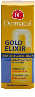 Dermacol Gold Elixir verjüngende Aromatherapie mit Kaviar 2