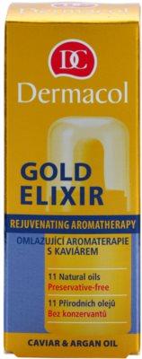 Dermacol Gold Elixir aromaterapia rejuvenescedora com caviar 2